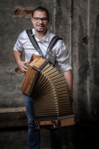Musiker Portraits von Georg Singer im Fotostudio